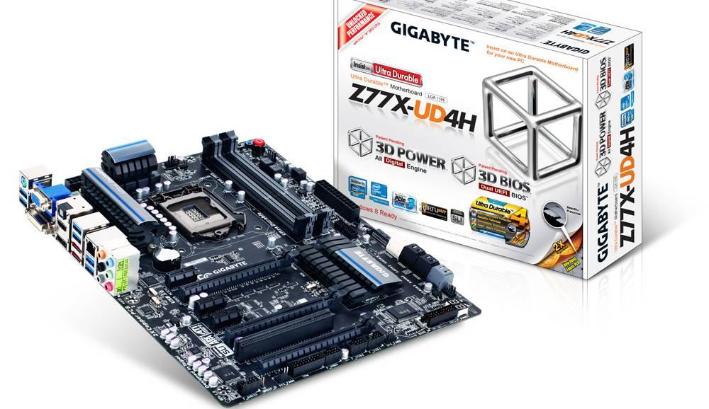 Gigabyte Z77X-UD4H LGA 1155 Motherboard